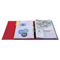 thumb-Ordner Prem'touch, 50mm, A4 maxi, rood-3