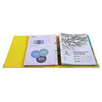 thumb-Ordner Prem'touch, 50mm, A4 maxi, geel-3