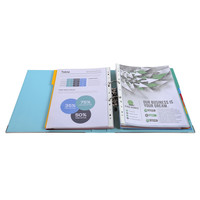 thumb-Ordner Prem'touch, 50mm, A4 maxi, lichtblauw-2