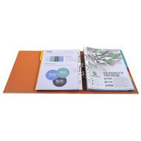 thumb-Ordner Prem'touch, 80mm, A4 maxi, oranje-3