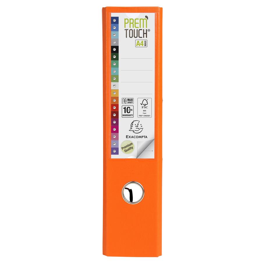 Ordner Prem'touch, 80mm, A4 maxi, oranje-2