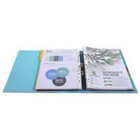 thumb-Ordner Prem'touch, 80mm, A4 maxi, lichtblauw-4