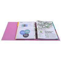 thumb-Ordner Prem'touch, 80mm, A4 maxi, roze-3