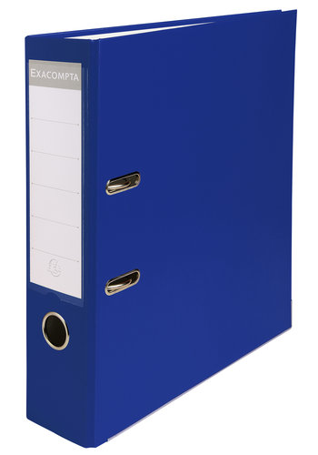 Exacompta Ordner, 80mm, A4, donkerblauw