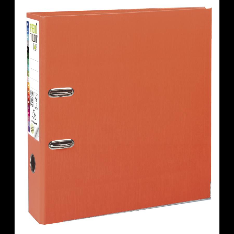 Ordner Prem'touch, 80mm, A4 maxi, oranje-1
