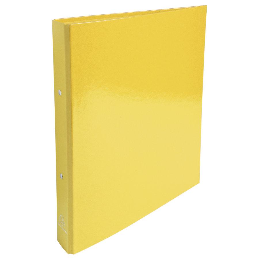 Ringmap Iderama, 2 ringen, A4, geel-1