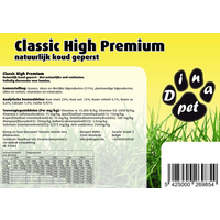 Geperste hondenbrokken, Classic High Premium
