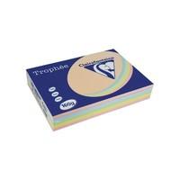 Trophée papier, pastelkleuren, A4, 160g, 5x50