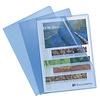 Exacompta Transparante L-mappen, A4, 10 stuks, blauw