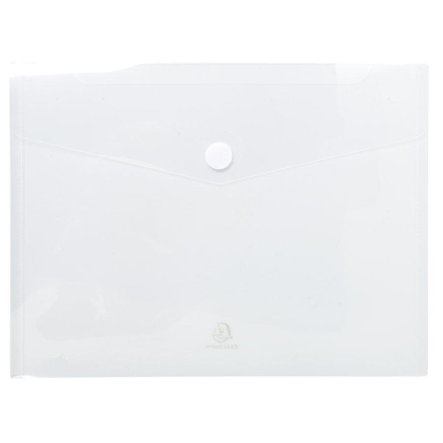 Enveloptassen met velcrosluiting, A4, 5 stuks, verschillende kleuren-4
