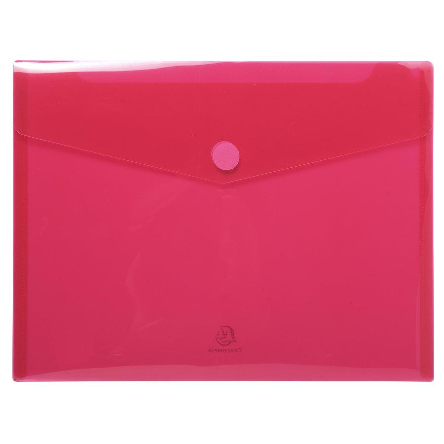 Enveloptassen met velcrosluiting, A4, 5 stuks, verschillende kleuren-5