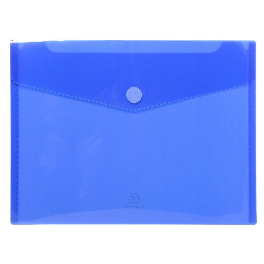 Enveloptassen met velcrosluiting, A4, 5 stuks, verschillende kleuren-6