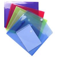 thumb-Enveloptassen met velcrosluiting, A4, 5 stuks, verschillende kleuren-1