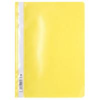 Bestekmapje, A4, geel
