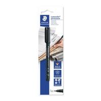Lumocolor universele pen, permanent, zwart