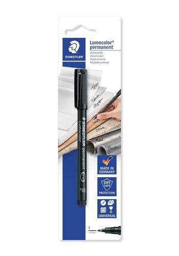 Staedtler Lumocolor universele pen, permanent, zwart