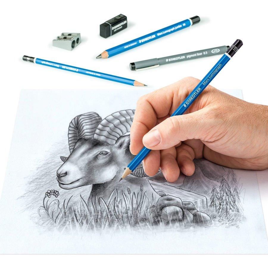 Teken- en schetsset,  Sketching Design Journey, 12-delig-4