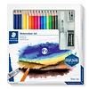 Staedtler Aquarel kleurpotloden, Design Journey,  18-delige set