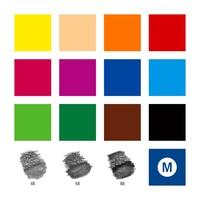 thumb-Aquarel kleurpotloden, Design Journey,  18-delige set-3