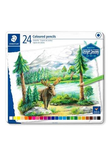 Staedtler Kleurpotloden, Design Journey 146 C, 24 kleuren