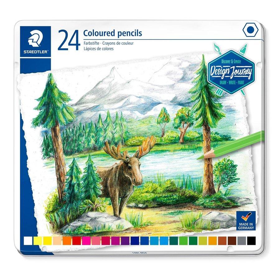 Kleurpotloden, Design Journey 146 C, 24 kleuren-1