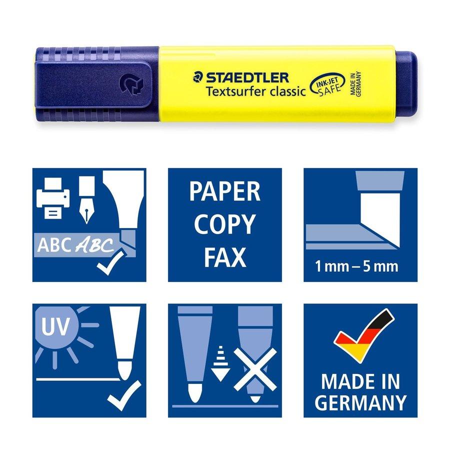 Fluostiften, Textsurfer Classic 364, 4 stuks-2