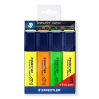 thumb-Fluostiften, Textsurfer Classic 364, 4 stuks-1
