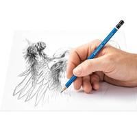 thumb-Grafietpotloden, gom en slijper, Mars Lumograph potloden, 6 stuks-4