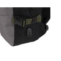 thumb-Rugzak met USB-poort, Mobility, grijs-2