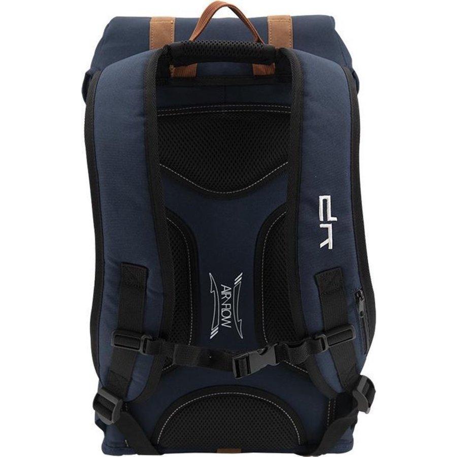 Rugzak met USB-poort, Heritage Blue, blauw-3