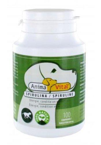 AnimaVital Spirulina tabletten, 100 stuks