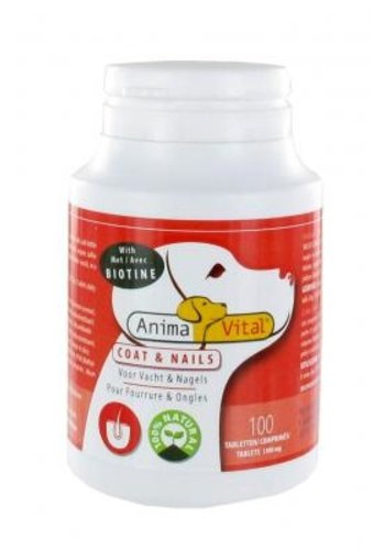 AnimaVital Biotine complex tabletten, 100 stuks
