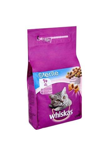 Whiskas kattenbrokjes met zalm +1j  1.75kg - sterile