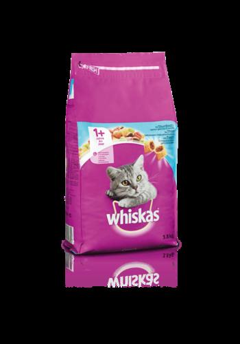 Whiskas kattenbrokjes met tonijn +1j  3.8kg