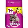 Whiskas kattenbrokjes met kip +1j 7 kg