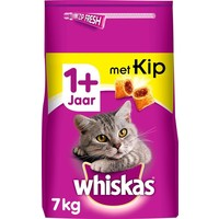 kattenbrokjes met kip +1j 7 kg
