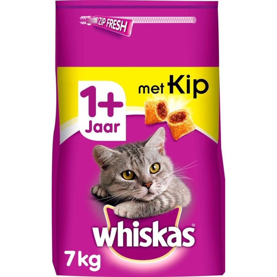 kattenbrokjes met kip +1j 7 kg-1