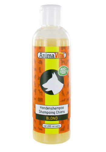 AnimaVital Hondenshampoo, blond, 200ml