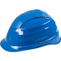 Veiligheidshelm blauw