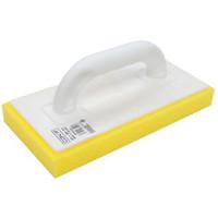 Strijkbord met gele spons