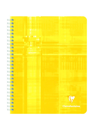 Clairefontaine Schrift 120p geruit 90g 16.5x21cm