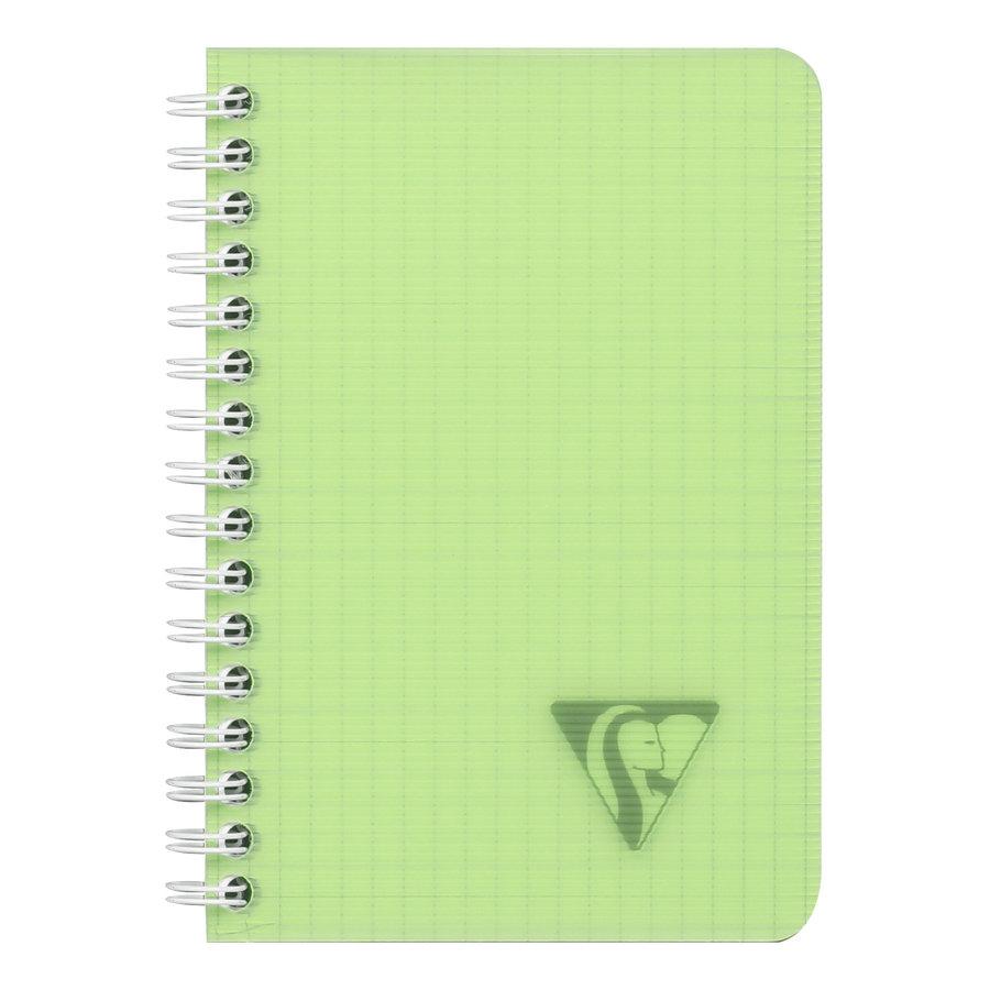 Notaboek spiraal 9x14cm geruit 50p-1