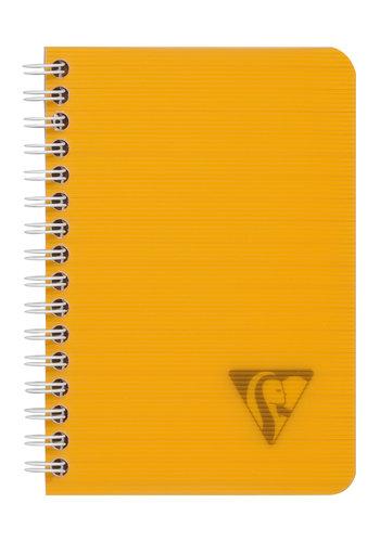 Clairefontaine Notaboek spiraal 9x14cm gelijnd 50p