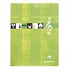 Clairefontaine Muziekschrift 17x22cm 56p