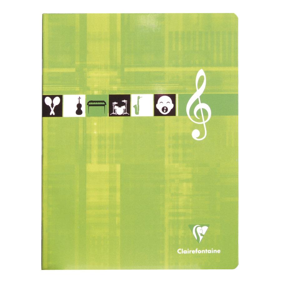 Muziekschrift 17x22cm 56p-1