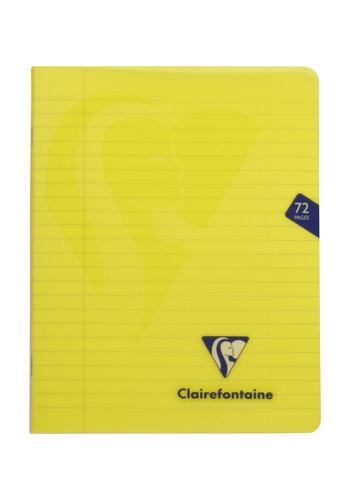 Clairefontaine Mimesys schrift gelijnd 36bl 16.5x21cm