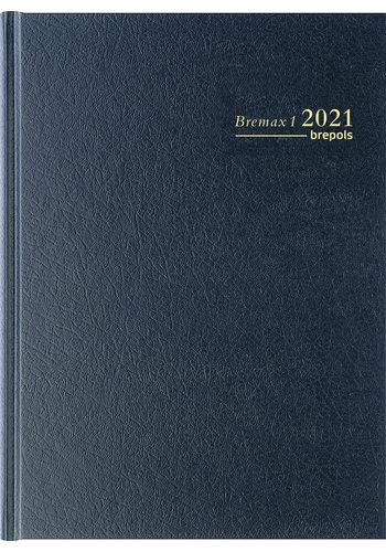 Brepols Agenda bremax santex zwart 2021