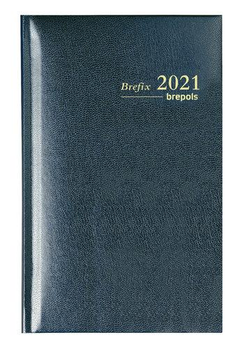 Brepols Agenda brefix lima 6talig zwart 2022