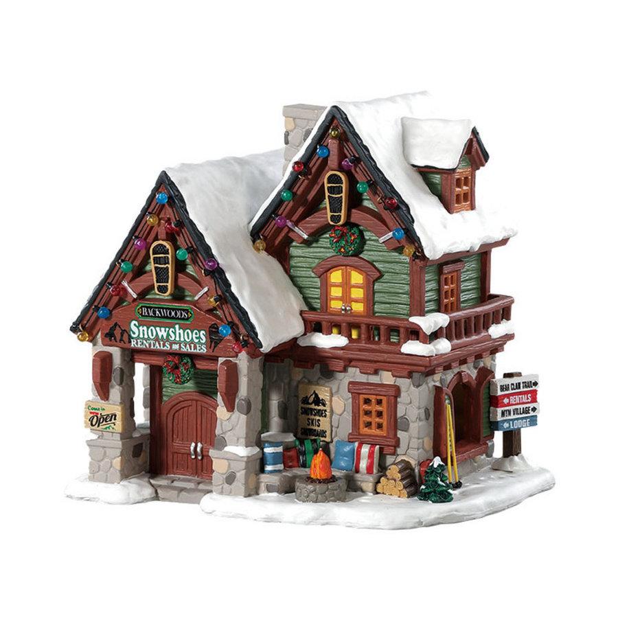 Backwoods snowshoe rental shop led-1