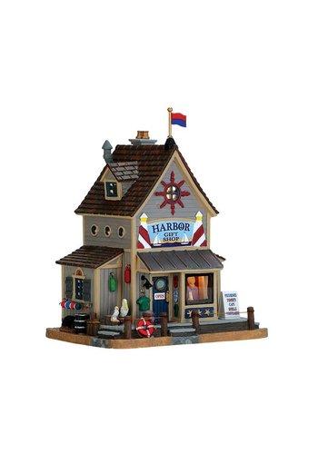 Lemax Harbor gift shop led